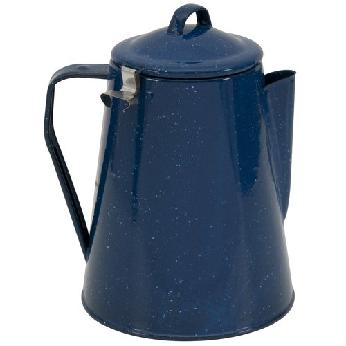 Ozark Trail 8-Cup Coffee Percolator, Blue