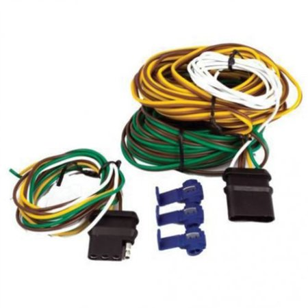 Trailer Wiring Kit, 4-Pole Flat, 20