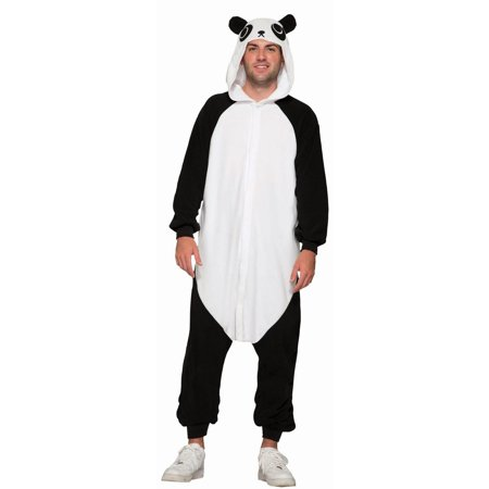 Halloween One Piece Panda Adult Costume - Adult Panda Costume
