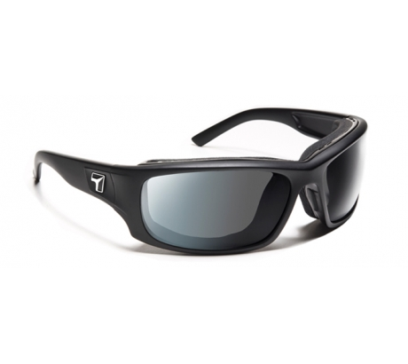 Image of 7 Eye Air Shield Panhead Sunglasses, Photochromic Day Night Eclypse Lens, Matte Bl