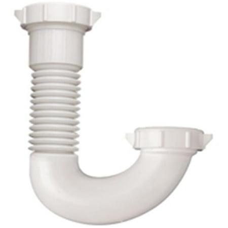 Plumb Pak PP812 50 J bend 1 1 2 1 2 x 1 1 4 in Slip Joint White