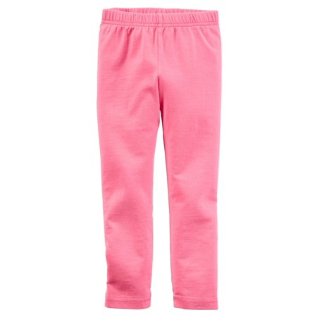 Carters Toddler Clothing Outfit Little Girls Leggings Neon Pink - Neon Outfit