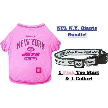 e825efe25dd NFL New York Jets PET COLLAR   PET TEE SHIRT