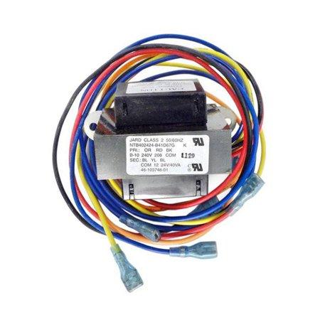 Cal Pump Transformer (Raypak H000021 12-24V Digital Transformer for RHP 5350, 6350 & 8350 Heat Pumps )
