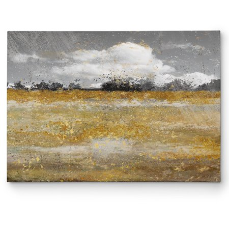 Wexford Home  'Meadow Shimmer II' Gallery Wrapped Canvas Wall Art