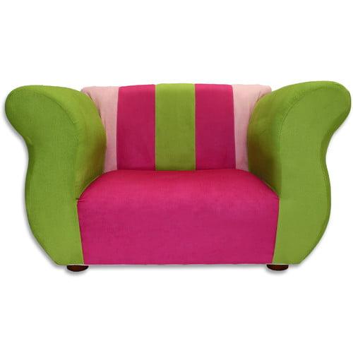 Keet Kid's Fancy Microsuede Chair
