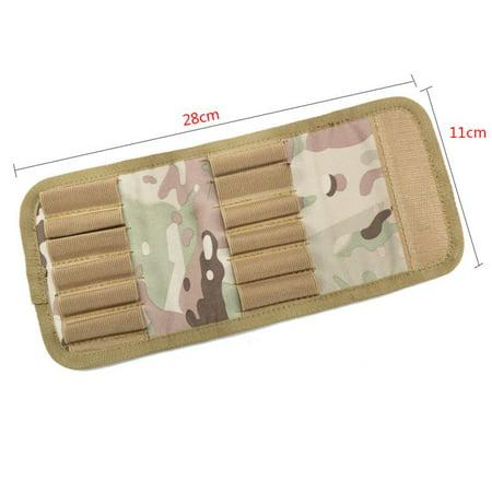 600D Rifle Cartridge Padded Holder Carrier 28*13cm Shoting gun Hunting Accessory Bullet Accessory Bag Reloading Rifle Bullets