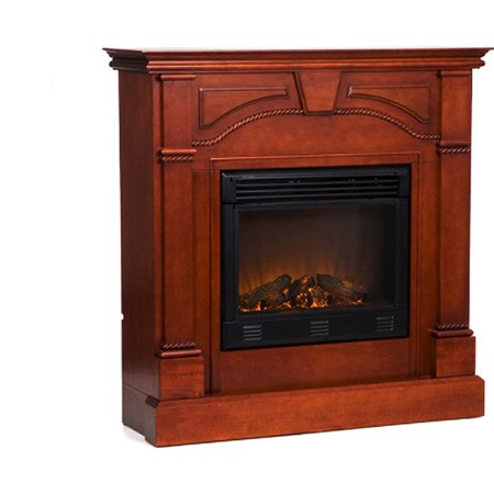 Colton Electric Fireplace Classic Mahogany