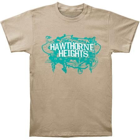 Hawthorne Heights Men's  Mess T-shirt Ivory