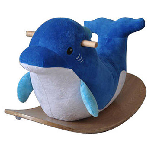 Dream on Me Sea Dolphin Musical Rocker