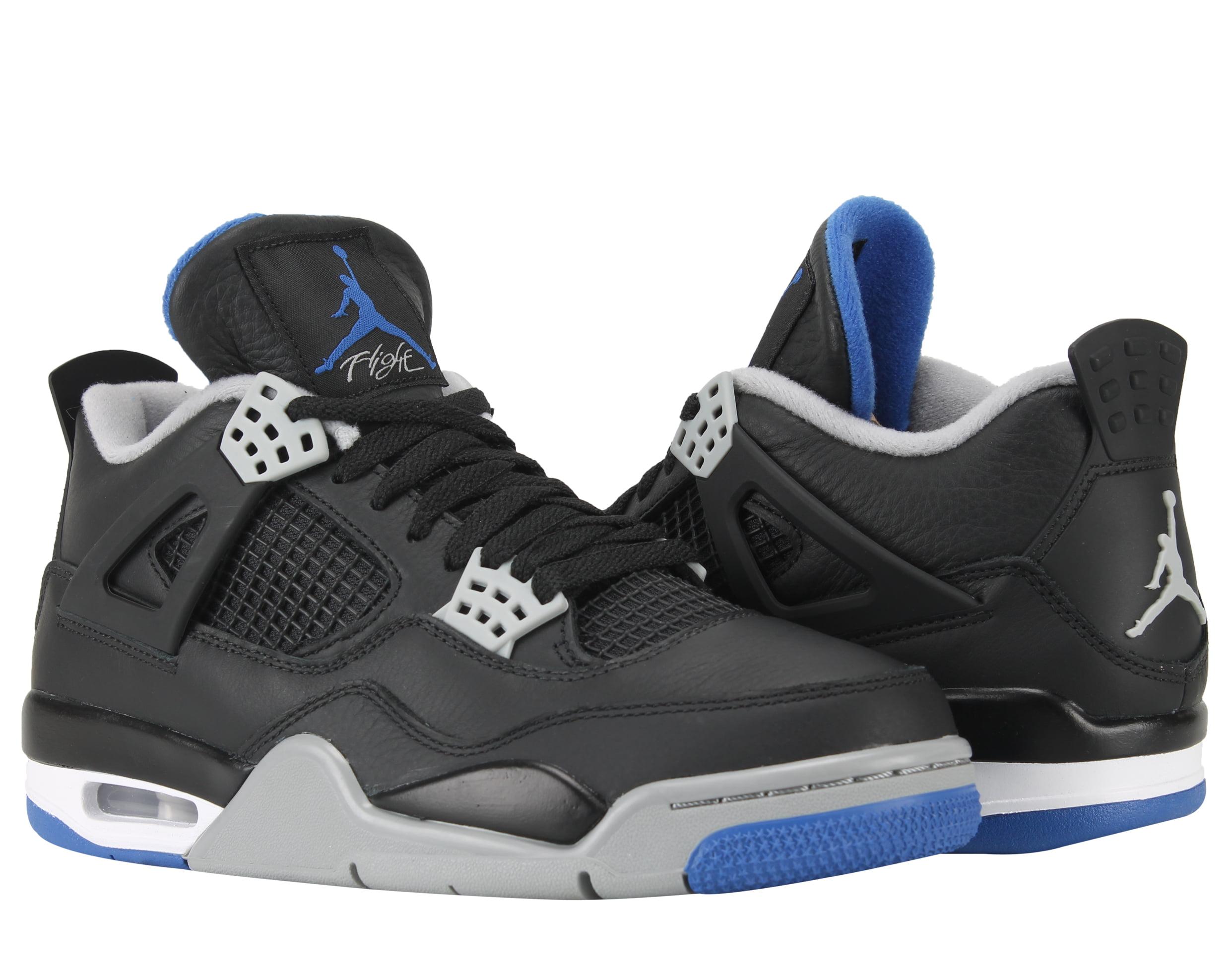 new arrivals 0aea7 35c51 ... discount nike air jordan 4 retro motorsports black mens basketball shoes  308497 006 3b33f 3ef22