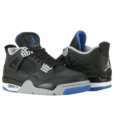 Nike Air Jordan 4 Retro Motorsports Black Mens Basketball Shoes 308497 006