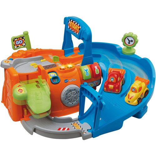 VTech Go! Go! Smart Wheels 2-in-1 Race Track