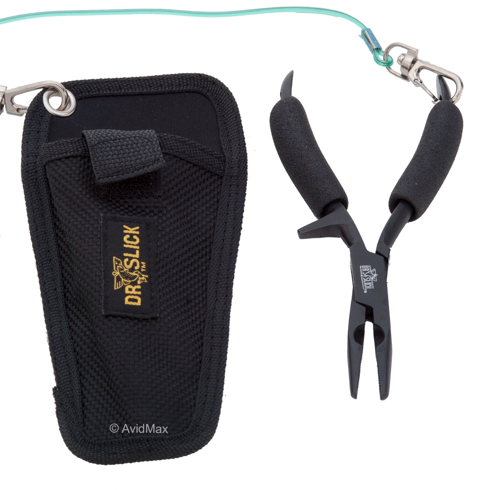 """Dr. Slick Chain Nose Pliers Straight Jaw for Fly Fishing 6"""""""