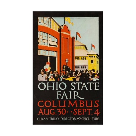 1926 Ohio State Fair, Columbus Print Wall Art](Halloween Columbus Ohio)
