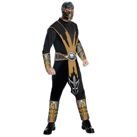 Womens Mortal Kombat Costumes (Mortal Kombat Scorpion Costume for)