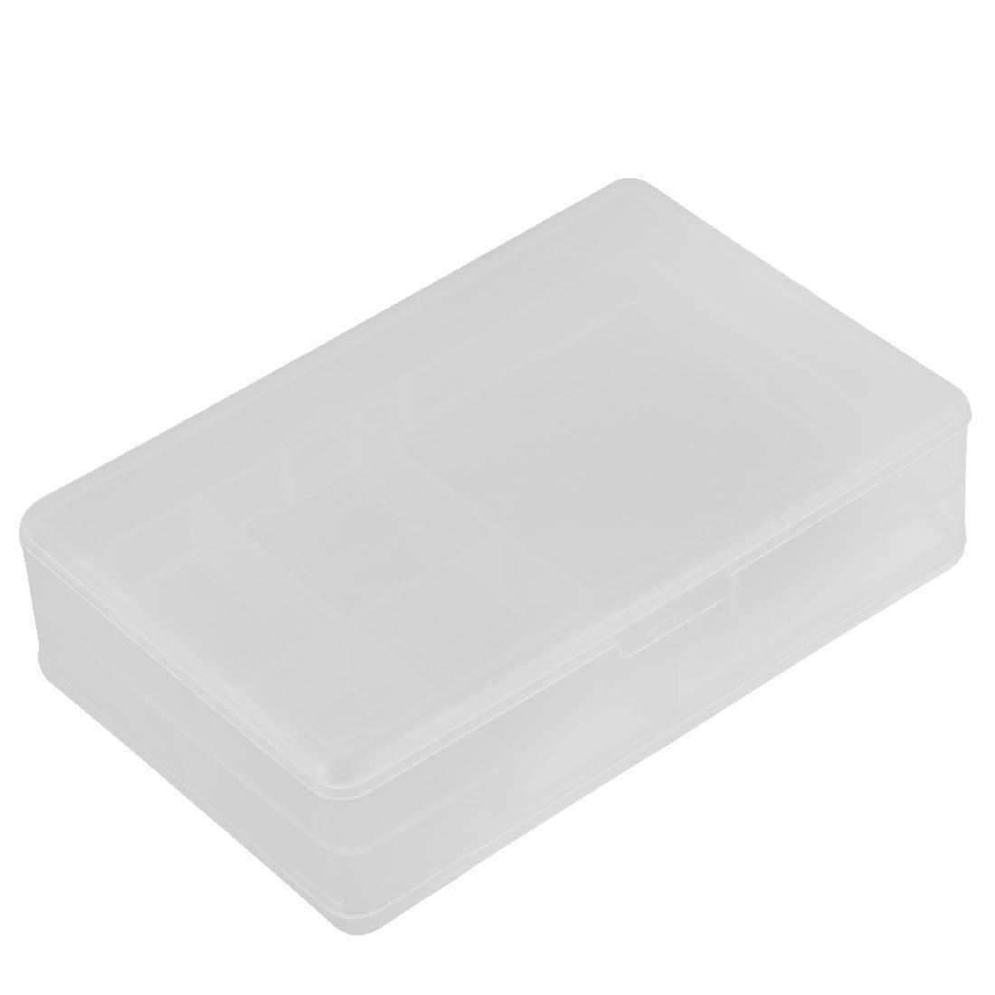 Plastic Dual Layers 5 Compartments Storage Case Box Organizer Conatiner - image 3 of 3