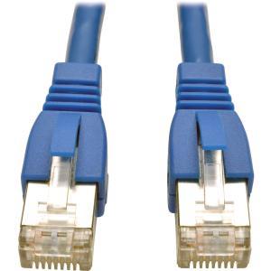Tripp Lite N262 003 BL 3Ft Aug Cat6A Shielded Patch Cable M/M