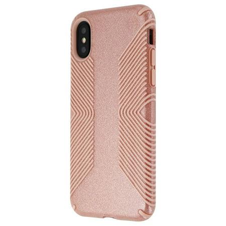 gold glitter iphone xs case
