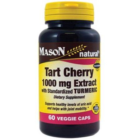 Mason natural tart cherry extract veggie capsules, 60