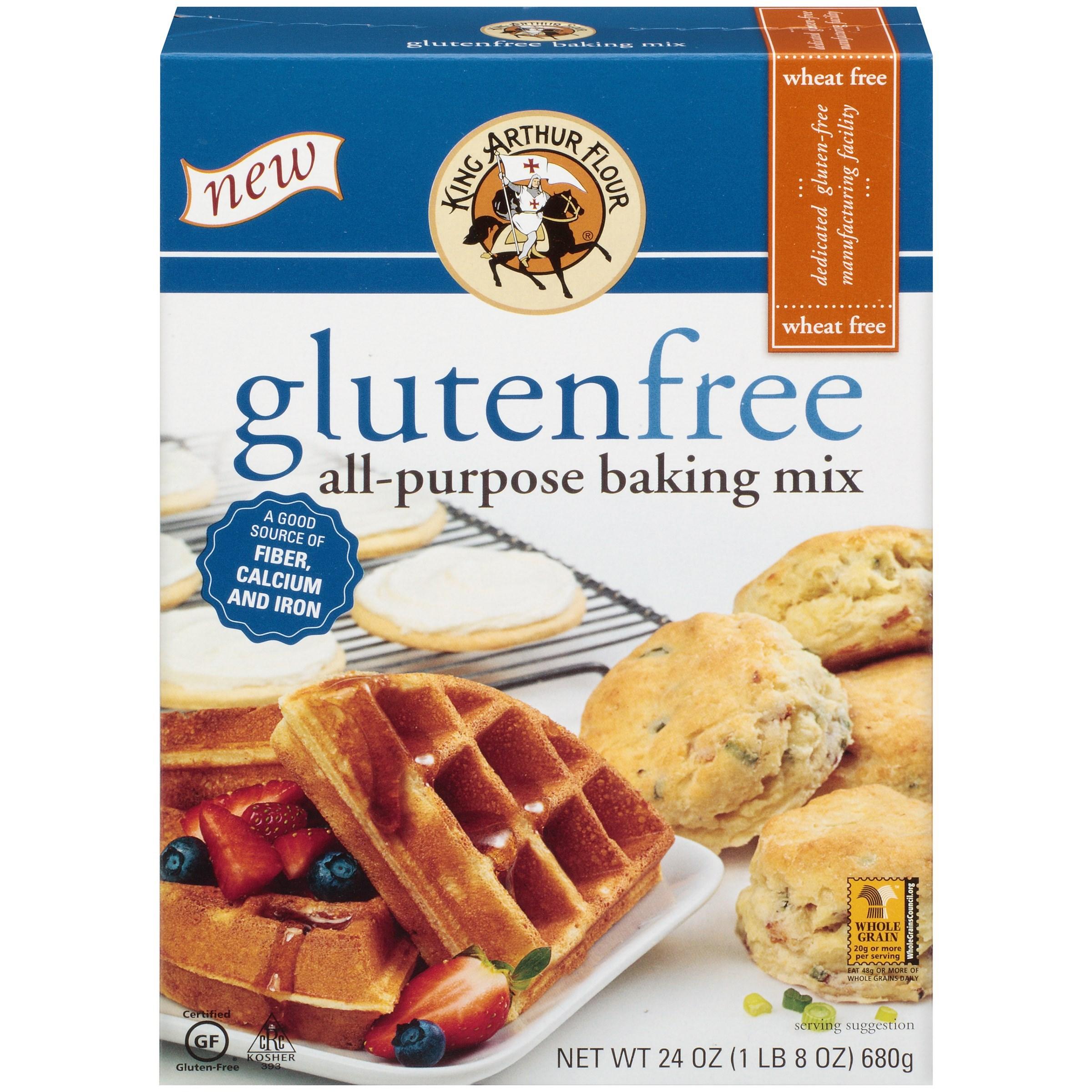 King Arthur Flour Gluten Free All-Purpose Baking Mix, 24 OZ (Pack of 6)
