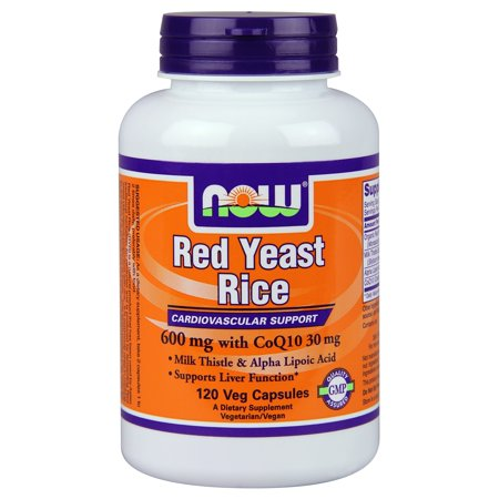 Now Foods Red Yeast Rice   Coq10 120 Vegetable Capsules