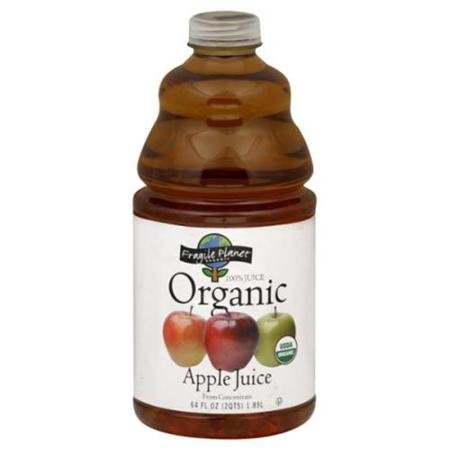 L & A Juice Juice Apple 64 OZ (Pack of 8)