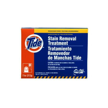 Procter & Gamble Pro Line Tide Professional Stain Removal Powder Treatment, 7.6 oz Packs, 14 Packs Per Case