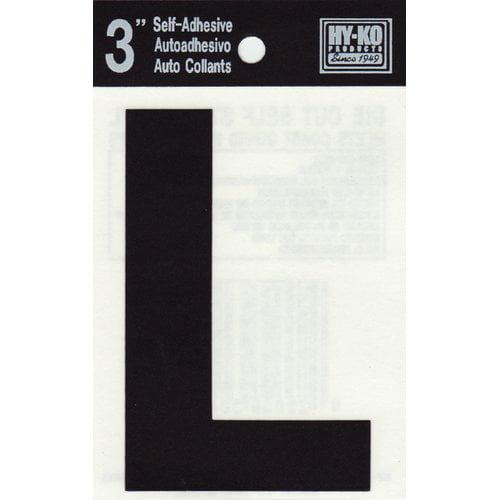 Hy-Ko Sticker House Letter (Set of 10)