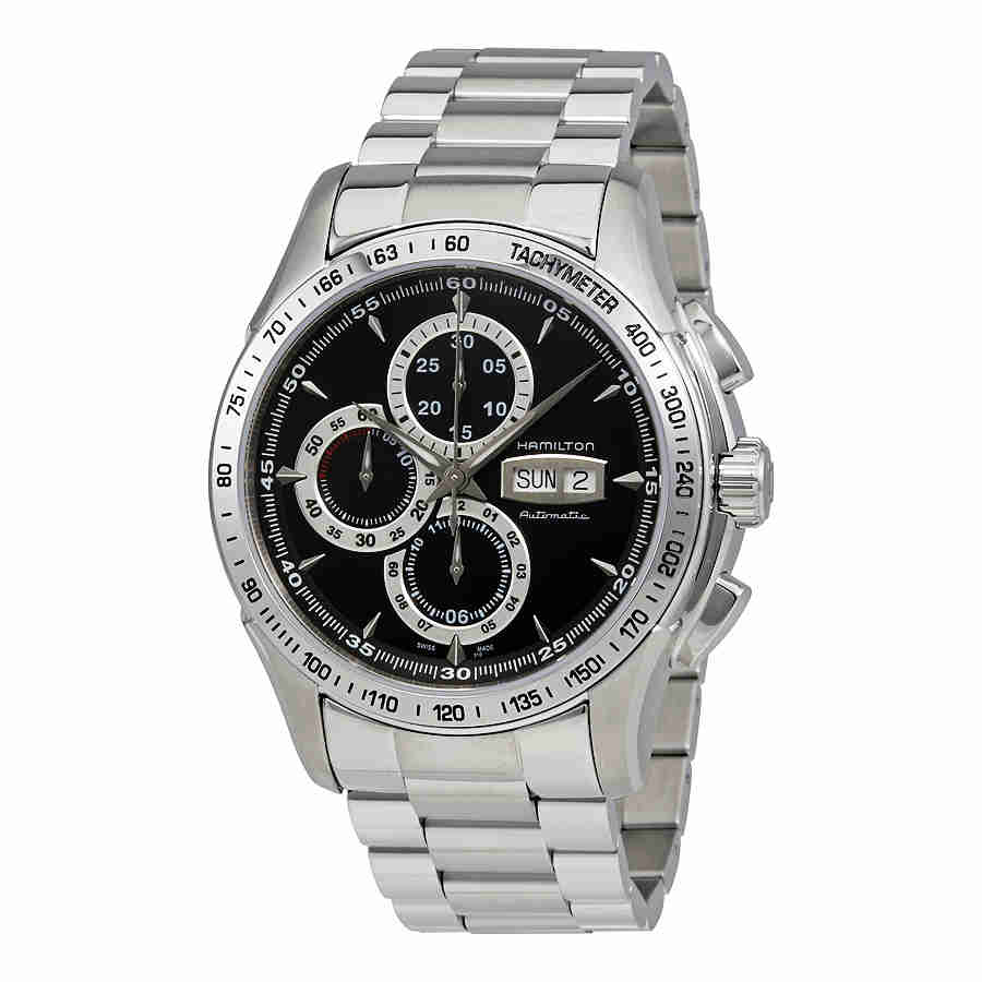 Hamilton Lord Hamilton Black Dial Automatic Chronograph Mens Watch H32816131 by Hamilton