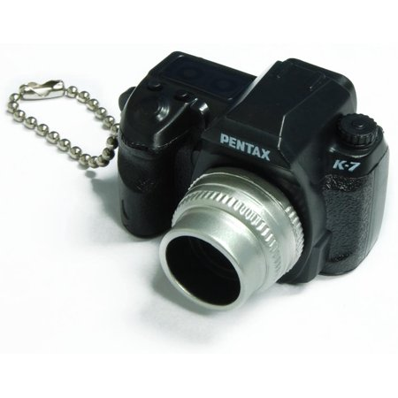 Buy Pentax Capsule Mini Camera Keychain K-7 Black Camera Before Too Late