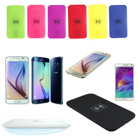 Slim QI Wireless Charging Pad Mat For IOS Android Phone iphone XS /XS MAX/ XR/ qiwirelesscharging X/ 8