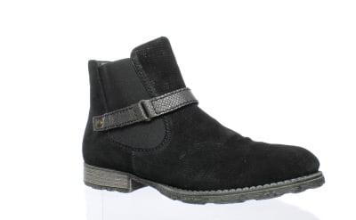 New Rieker Womens Z9262-01 Black Ankle