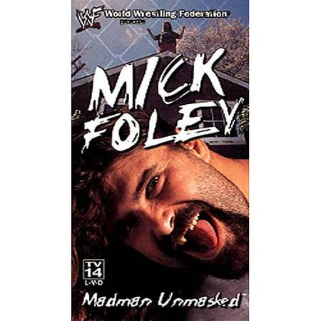 WWF Mick Foley Madman Unmasked (2000) Wrestling WWE VHS Tape (Wwe 1999 Vhs)