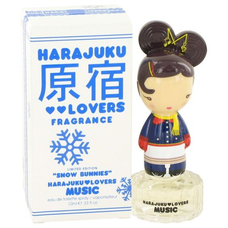Harajuku Lovers Snow Bunnies Music by Gwen Stefani Eau De Toilette Spray .33 oz (Women) 10ml - image 1 of 1