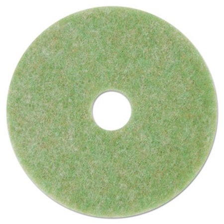 - 17 in. Diameter Low-Speed Topline Autoscrubber Floor Pads 5000, Green & Orange - 5 per Count