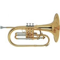 Stagg WS-MB225 Marching Mellophone with Case Included