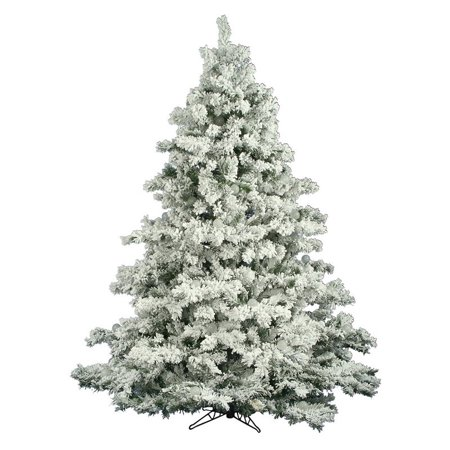 Vickerman Unlit 3' Flocked Alaskan Artificial Christmas Tree - Walmart.com - Vickerman Unlit 3' Flocked Alaskan Artificial Christmas Tree