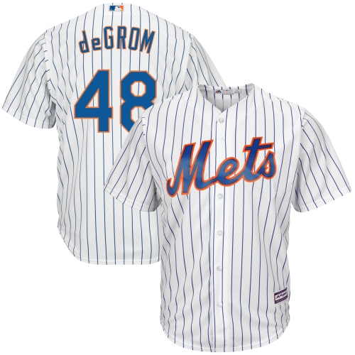 Jacob deGrom New York Mets Majestic Cool Base Player Jersey White by MAJESTIC LSG