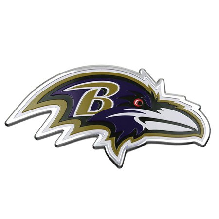 Nfl Football Emblem - NFL Baltimore Ravens Colored Emblem