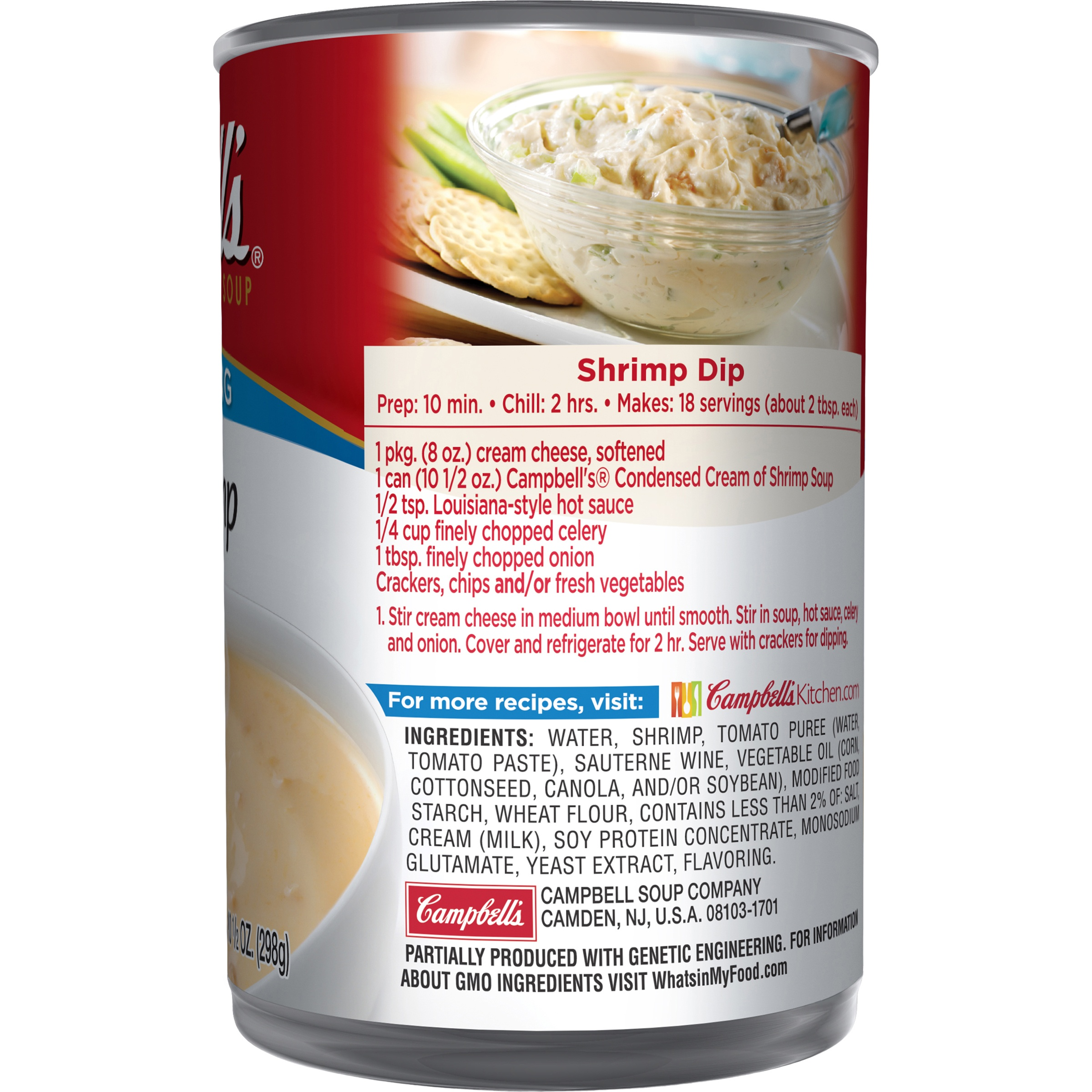Campbell s Cream of Shrimp Condensed Soup 10 5 oz Walmart