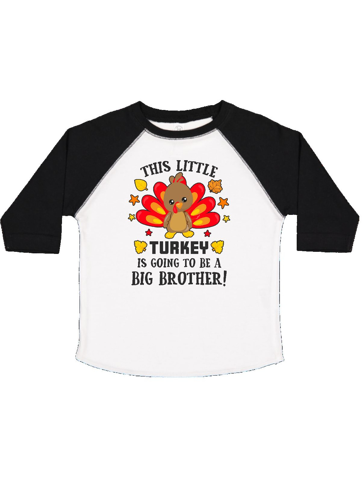 This Little Turkey is Going to be a Big Brother Toddler T-Shirt