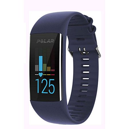Polar A370 Fitness Tracker with 24/7 Wrist Based HR Blue M/L - Tracker Bases