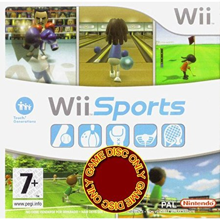 Nintendo Refurbished Wii Sports Game With Tennis Bowling Golf Games ()