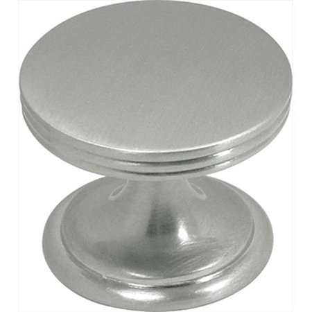 Hickory Hardware P2142-SN 1.37 In. American Diner Satin Nickel Cabinet Knob