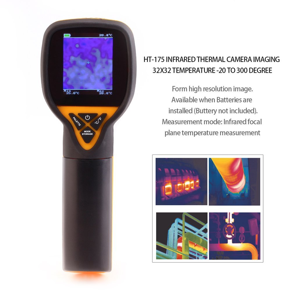 HT-175 Infrared Thermal Camera IMaging 32X32 Temperature -20 to 300 Degree Electronic Measuring Instruments by