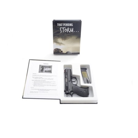 Hand Gun Hider Book Safe-Pending Storm ML