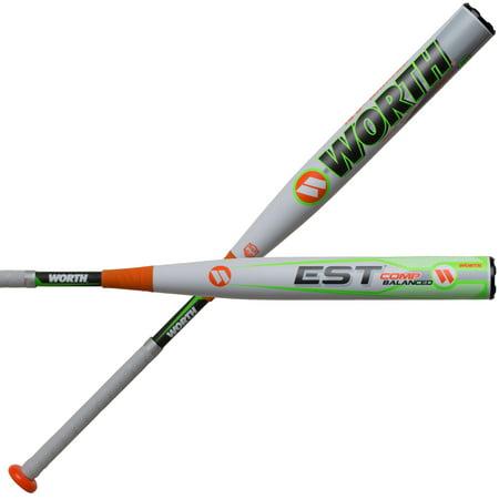 Worth EST Comp Balanced ASA Slowpitch Softball (Best Balanced Slowpitch Softball Bat)