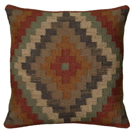 Rizzy Home Decorative Poly Filled Throw Pillow Medallion 18