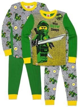 Lego Ninjago 4pc Pajama Set(Little Boys & Big Boys)